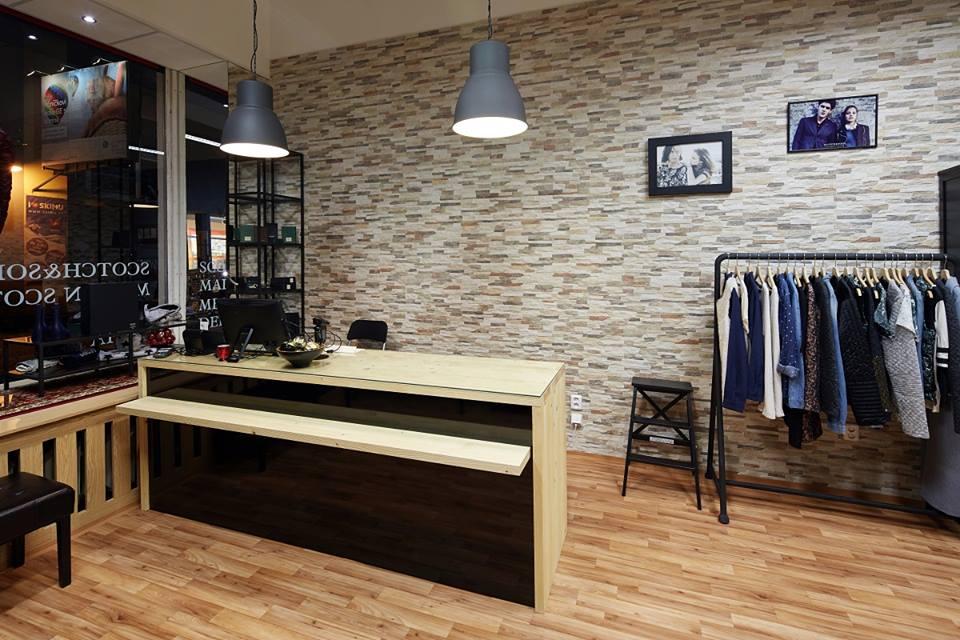 Obchod s oblečením - Projekt - InHaus 97ec24295a