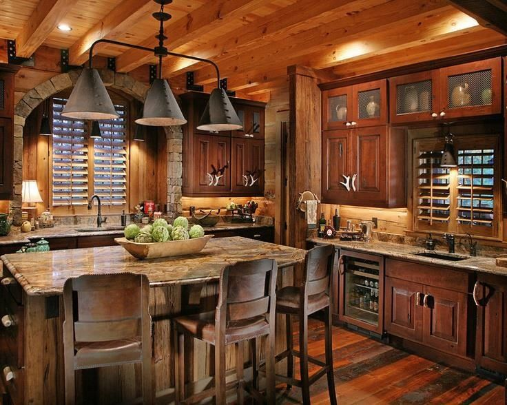 rustic kitchen decorating ideas kuchyň z masivu inhaus cz 21593