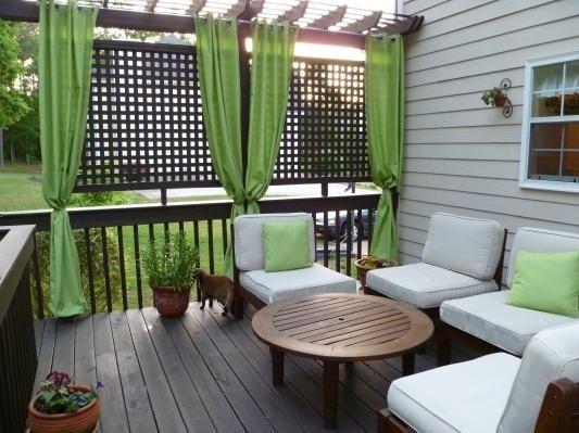Veranda se z v sy for Outdoor deck privacy solutions