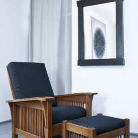 Gustav Stickley Morris Drop Arms Chair No.369