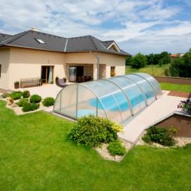Zastřešení nadzemního bazénu