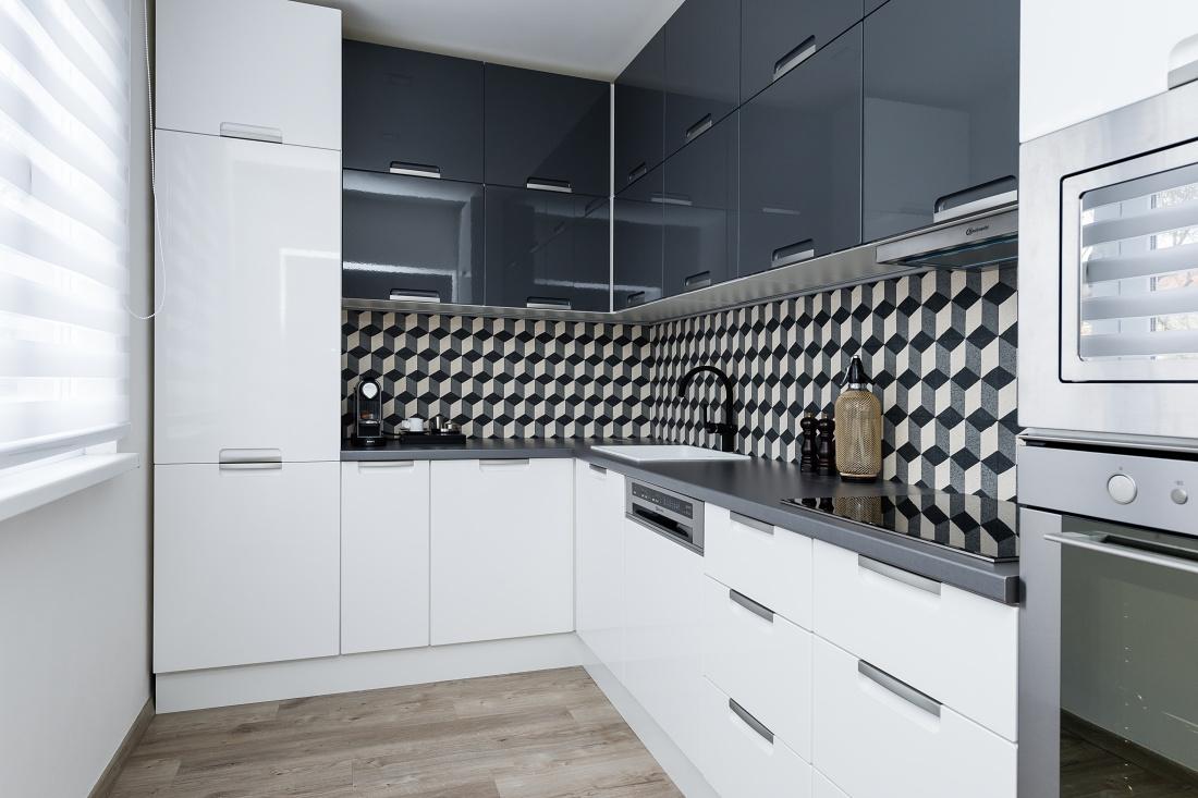 Moderní Kuchyně S Retro Obkladem Inhauscz