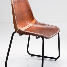 Židle Vintage Brown Leather KARE