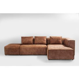 Sofa Infinity Otoman Right Cognac KARE