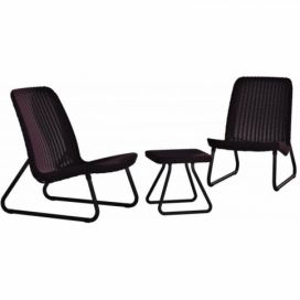 RIO PATIO set - hnědý Keter