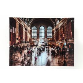 Obraz Glass Grand Central Station 120x160 cm KARE