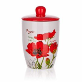 BANQUET Dóza s víčkem 600ml Red Poppy OK 60ZF1131RP