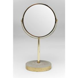 Table Mirror Concrete Gold KARE