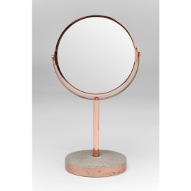 Table Mirror Concrete Copper KARE