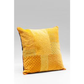 Cushion Patchwork Bright Orange 40x40cm KARE
