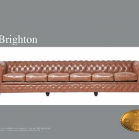 Chesterfield Brighton 6 Vintage, Pohovka 6 místná  Chesterfield Showroom