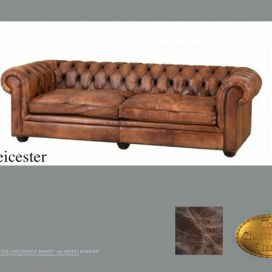 Chesterfield Leicester 2.4, Pohovka 2 místná  Chesterfield Showroom
