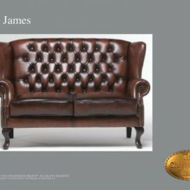 Chesterfield Sint james 2, Pohovka 2 místná  Chesterfield Showroom