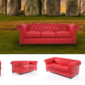 Chesterfield Brighton Pohovka Chesterfield Showroom