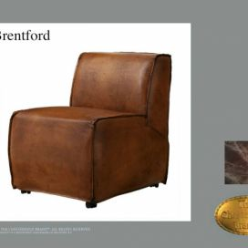 Chesterfield Brentfort short, Křeslo Chesterfield Showroom