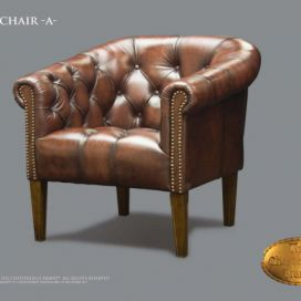 Chesterfield Clubchair a, Křeslo Chesterfield Showroom