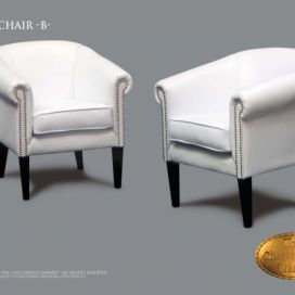 Chesterfield Clubchair b, Křeslo Chesterfield Showroom