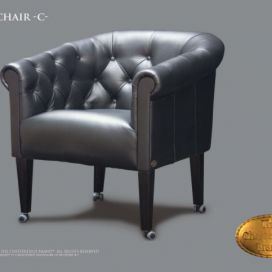 Chesterfield Clubchair c, Křeslo Chesterfield Showroom