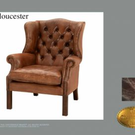 Chesterfield Gloucester, Křeslo Chesterfield Showroom