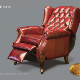Chesterfield Lazychester Relax, Křeslo Chesterfield Showroom