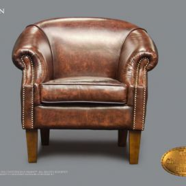 Chesterfield Nelson fauteuil, Křeslo Chesterfield Showroom