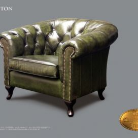 Chesterfield Hampton 1, Křeslo Chesterfield Showroom