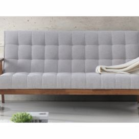 D4L Sofa Monely šedá/ořech Design4life