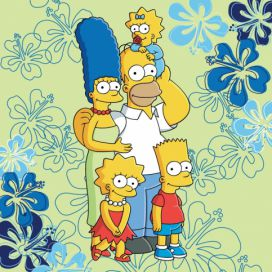 Jerry Fabrics Polštář The Simpsons 2016 40x40 4home.cz