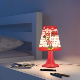 Philips Massive 71795/31/16 NOV 2016 Minnie Mouse LAMPA STOLNÍ 1x23W SEL 4home.cz