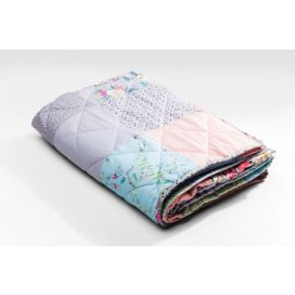 Blanket Patchwork Powder 140x220cm KARE