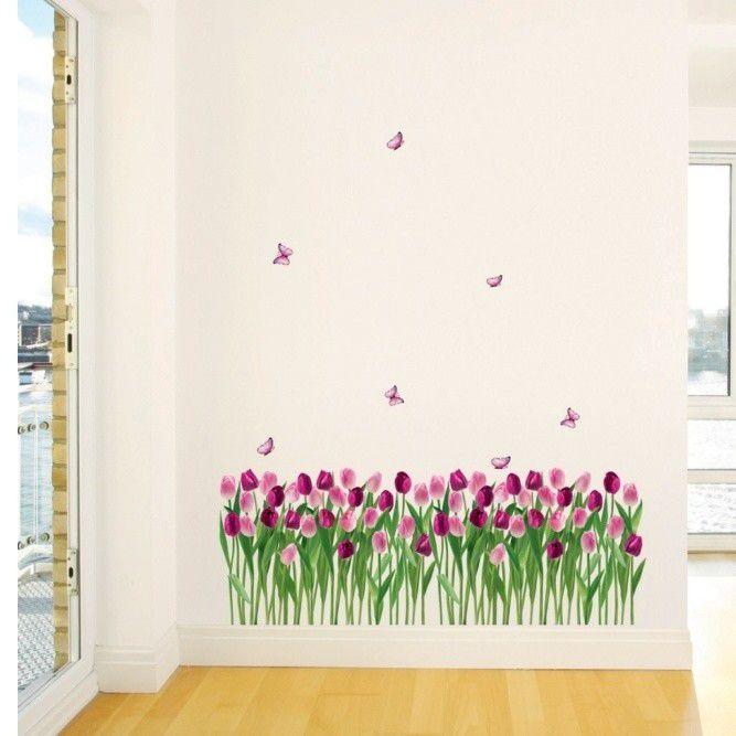 Samolepka Ambiance Dreaming Tulips Inhaus.cz