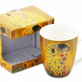 Home Elements hrnek porcelán Gustav Klimt 340 ml moderninakup.cz