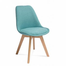 ATR home living  Židle Hugo hexagon, light blue Alhambra | design studio