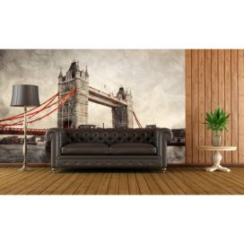 Tapeta - Historický Tower Bridge (120x80 cm) - PopyDesign Popydesign