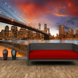 Tapeta - Brooklyn bridge (120x80 cm) - PopyDesign Popydesign