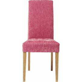 Padded Chair Econo Slim Shine Rose KARE
