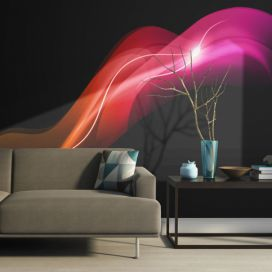 Bimago Fototapeta - Abstract colorful jellyfish 200x154 cm GLIX DECO s.r.o.