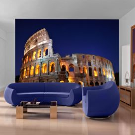 Bimago Fototapeta - Colloseum at night 200x154 cm GLIX DECO s.r.o.