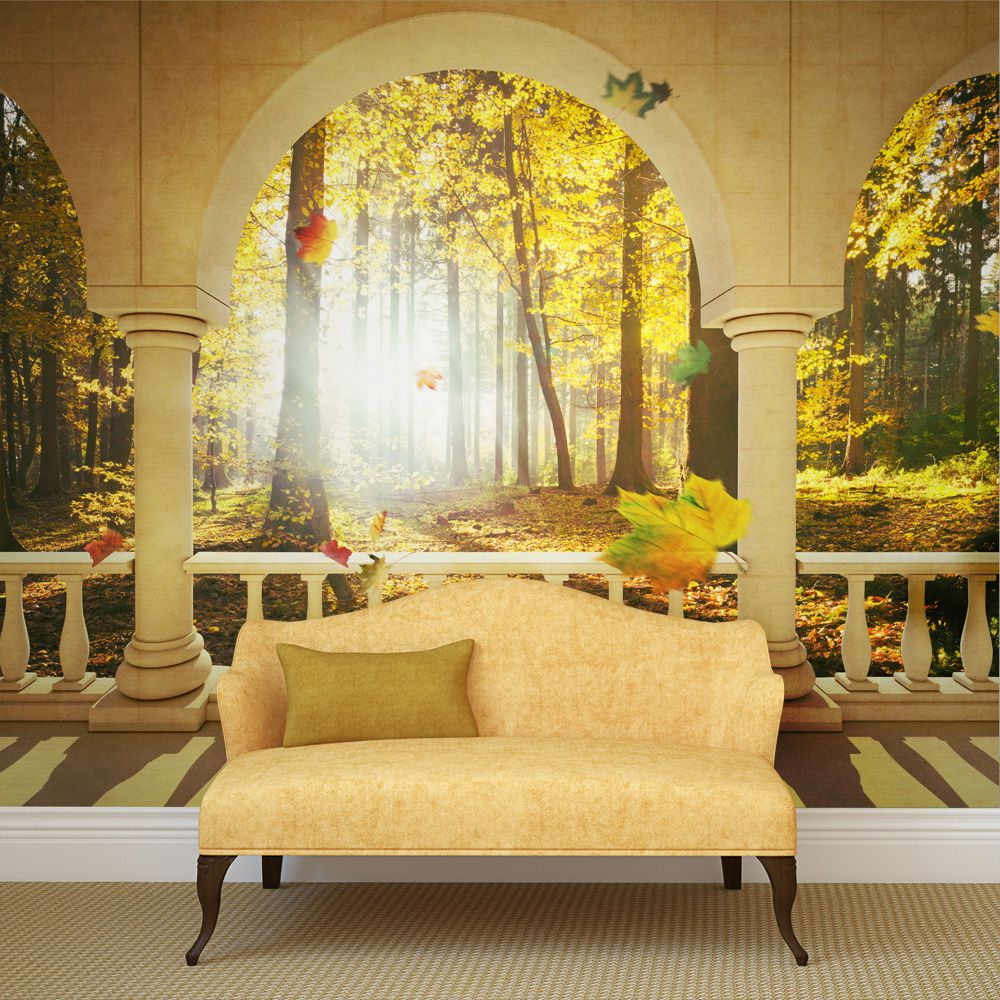 Bimago Fototapeta - Dream about autumnal forest 200x154 cm - GLIX DECO s.r.o.