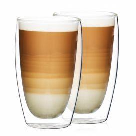 4Home Termo sklenice na latté Hot&Cool 410 ml, 2 ks