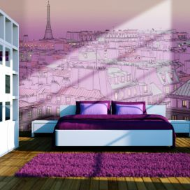 Bimago Fototapeta - Friday evening in Paris 350x270 cm GLIX DECO s.r.o.