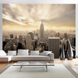 Fototapeta Bimago - New York - Manhattan at dawn + lepidlo zdarma 200x154 cm