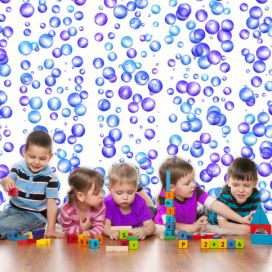 Bimago Tapeta - Colourful Bubbles role 50x1000 cm GLIX DECO s.r.o.