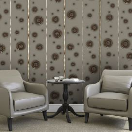 Bimago Tapeta - Copper bubbles role 50x1000 cm GLIX DECO s.r.o.