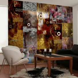 Bimago Tapeta - Painted Abstraction role 50x1000 cm GLIX DECO s.r.o.