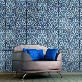 Bimago Tapeta - Royal blue dance role 50x1000 cm GLIX DECO s.r.o.