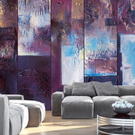 Bimago Tapeta - Winter evening - abstract role 50x1000 cm GLIX DECO s.r.o.