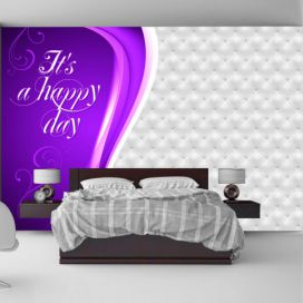 Bimago Fototapeta - It\'s a happy day 400x280 cm GLIX DECO s.r.o.