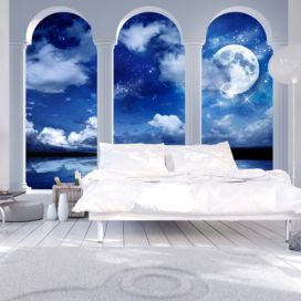 Bimago Fototapeta - Night in Greece 400x280 cm GLIX DECO s.r.o.