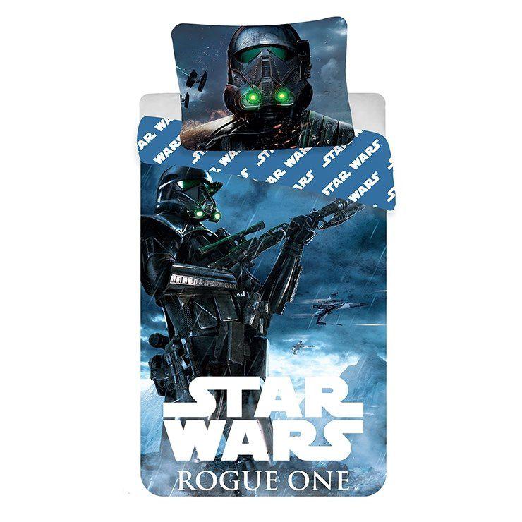 Jerry Fabrics bavlněné povlečení Star Wars Rouge One, 140 x 200 cm, 70 x 90 cm Inhaus.cz